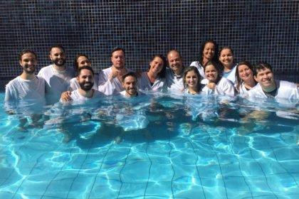 IBR realiza batismo neste dia 1 de junho