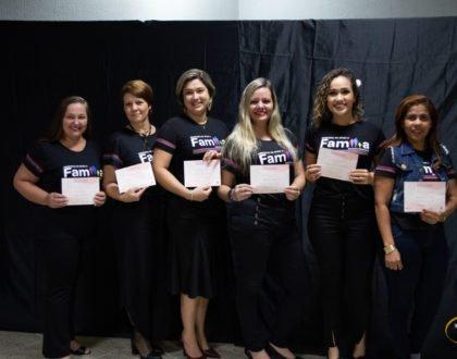 IBR realiza formatura dos cursos da Universidade da Família 2019/1