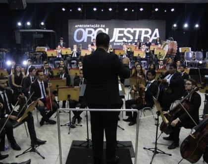 Apresentação da Orquestra Sinfônica Jovem de Goiás na IBR