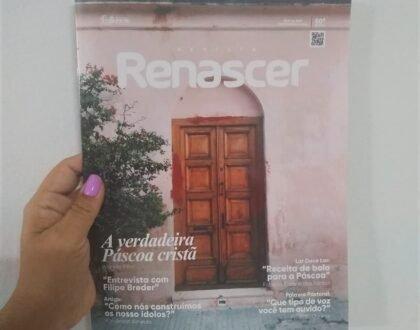 Com lançamento da 60º edição, a Revista Renascer completa cinco anos